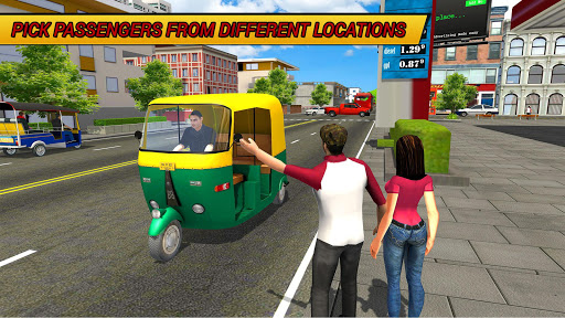Tuk Tuk Driving Simulator 2018 1.5 screenshots 1