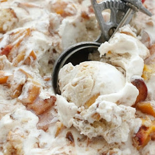 Peach Cobbler Ice Cream Recipe