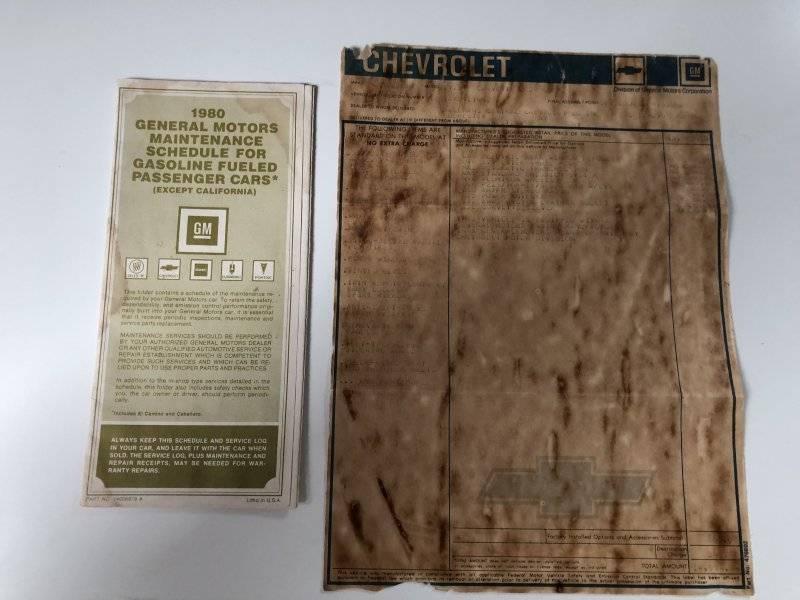 CHEVROLET CORVETTE C3 – 1980 – 19 750€