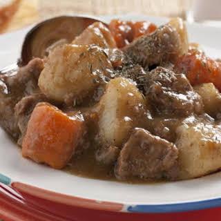 Warming Beef Stew.