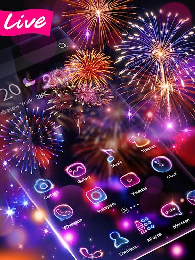 Lucky 3D New Year Firework Theme 1.1.4 screenshots 1