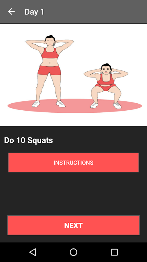 30 Day Butt Workout Challenge- screenshot