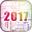 Happy New Year 2017 in German icon