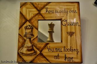 Photo: wooden mirror 9