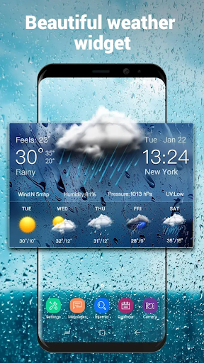Daily Weather Forecast Widget 15.1.0.46200_46511 screenshots 1