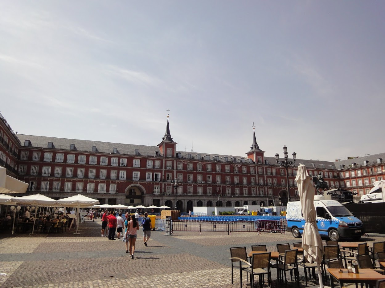 Place Mayor à Madrid