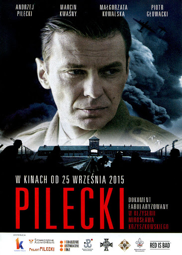 Przód ulotki filmu 'Pilecki'