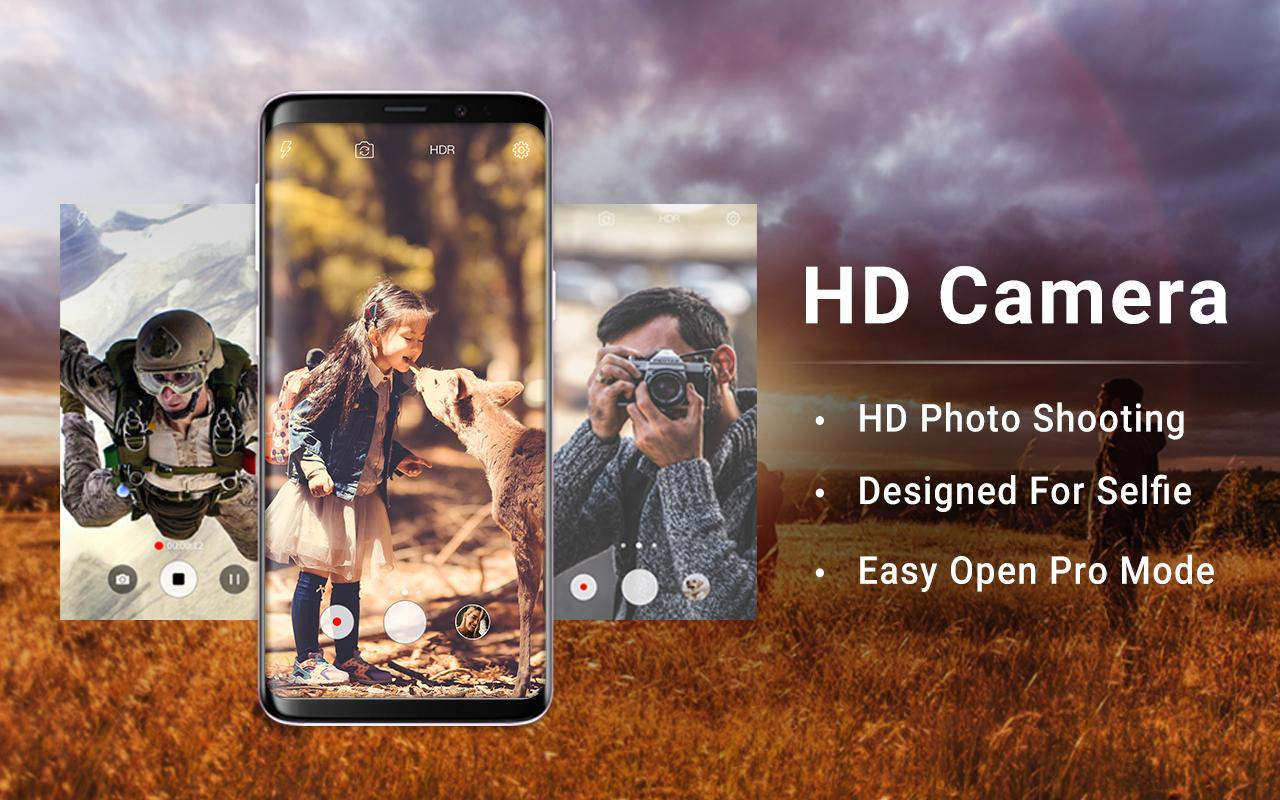 HD Camera Pro & Selfie Camera screenshots
