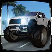 Monster Truck Stunt Car