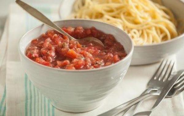 No Cook Tomato Sauce Recipe