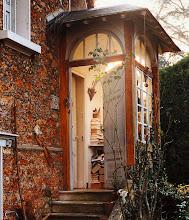 Photo: the entrance to handke's domicile