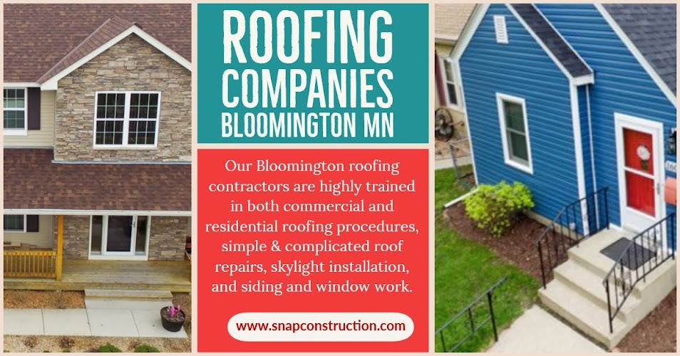 Roofing Companies Bloomington MN