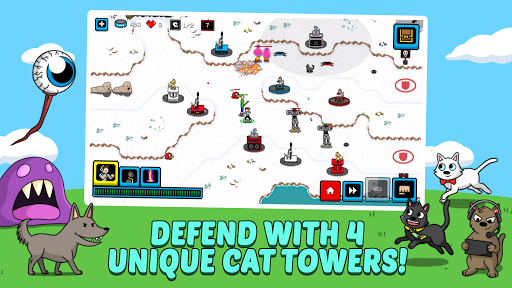Cats & Cosplay: Epic Tower Defense Fighting Game  image 2