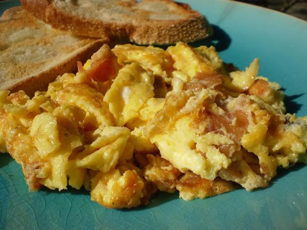 Cracker Barrel Special Scrambled Eggs Recipe