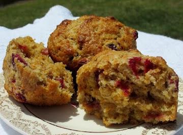 Carrot Walnut Craisin Muffins Recipe