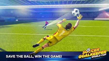 Soccer Goalkeeper 1.1.1 screenshot 2092540