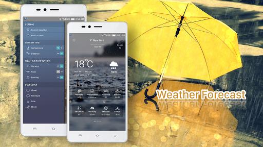Aplikacje Weather forecast (apk) za darmo do pobrania dla Androida / PC/Windows screenshot