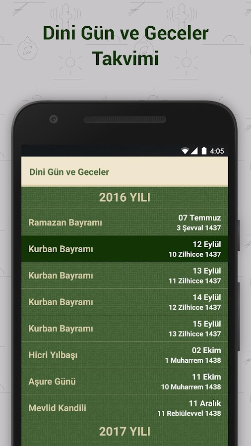 Namaz Vakitleri- screenshot