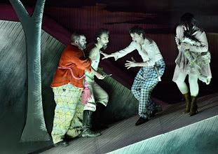Photo: Salzburger Osterfestspiele 2015: I PAGLIACCI. Premiere 28.3.2015, Inszenierung: Philipp Stölzl. Dimitri Platanias. Jonas Kaufmann, Tansel Akzeybek, Maria Agresta. Copyright: Barbara Zeininger