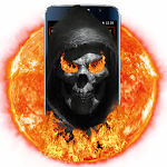 Fire Skull Theme Icon