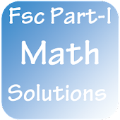 Fsc Part-I Maths Solutions