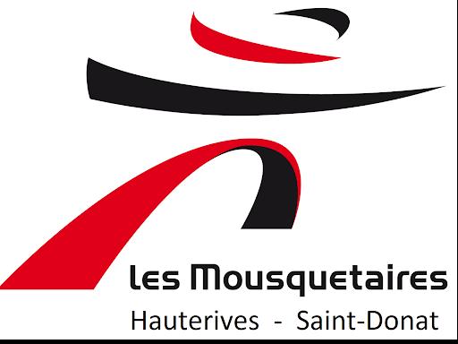 logo Les Mousquetaires - Hauterives - Saint-Donat