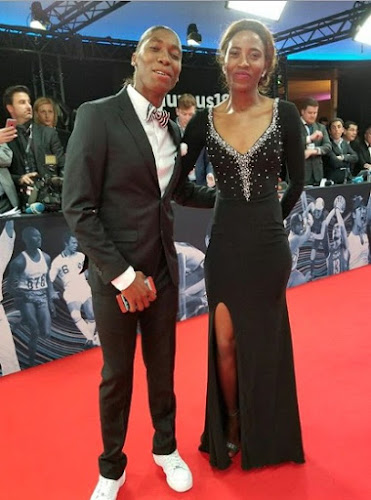 Caster and Violet steal the show at Laureus Sports Awards