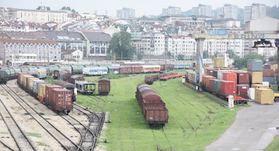 Photo: Day 80 - Belgrade's Railway Station