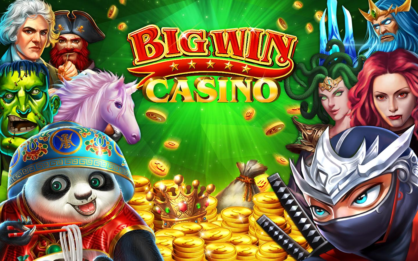 free slots casino games win 7