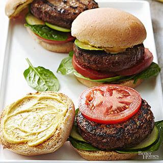 Veggie-Filled Hamburgers.