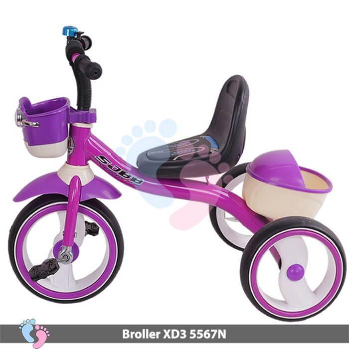 Xe đạp ba bánh Broller XD3-5567N 5