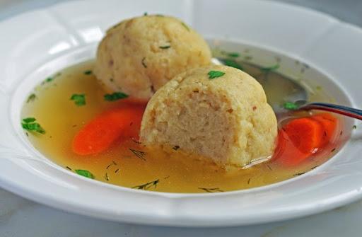 Rotisserie Chicken and Matzo Ball Soup
