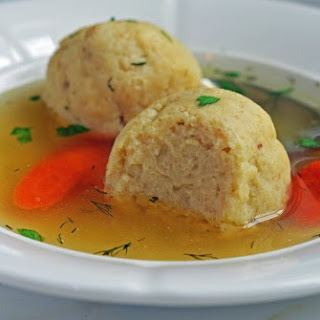Rotisserie Chicken and Matzo Ball Soup.