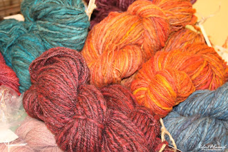 Photo: Yarns by Jester Farm at Delmarva Wool & Fiber Expo 2015 (Fall) | Photograph Copyright Robert J Banach #oceancitycool