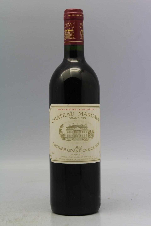1992 chateau margaux VINS MILLESIMES
