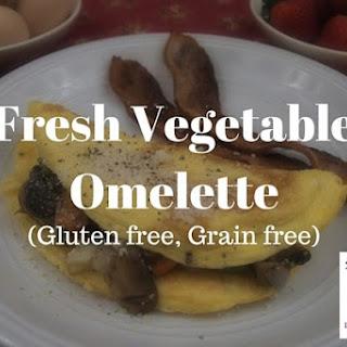 Fresh Vegetable Omelette