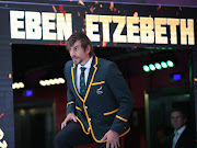 Eben Etzebeth is scheduled to leave for the Rugby World Cup squad with the Springboks.