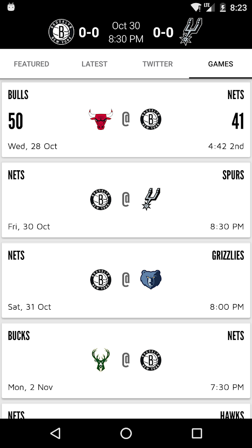 Brooklyn Nets- screenshot