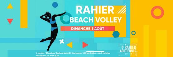 Tournoi de Beach-Volley - Aoûtiennes 2021 - RAHIER