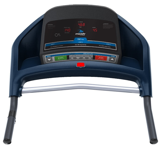 Merit Fitness 715T Plus console, image