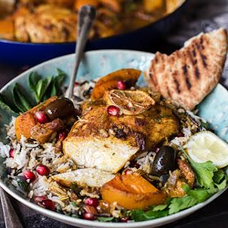 Moroccan Chicken Tagine.