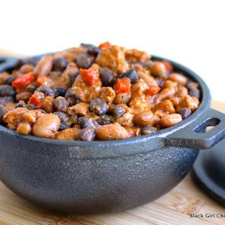 Chorizo and Two Bean Chili