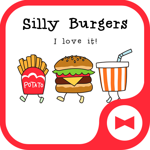 Silly Burgers  Funny Theme Icon