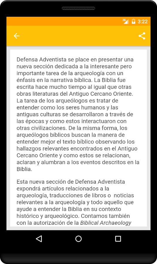 Defensa Adventista- screenshot