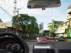 Photo: Hacia Ciudad del Este en Paraguay (en Taxi)