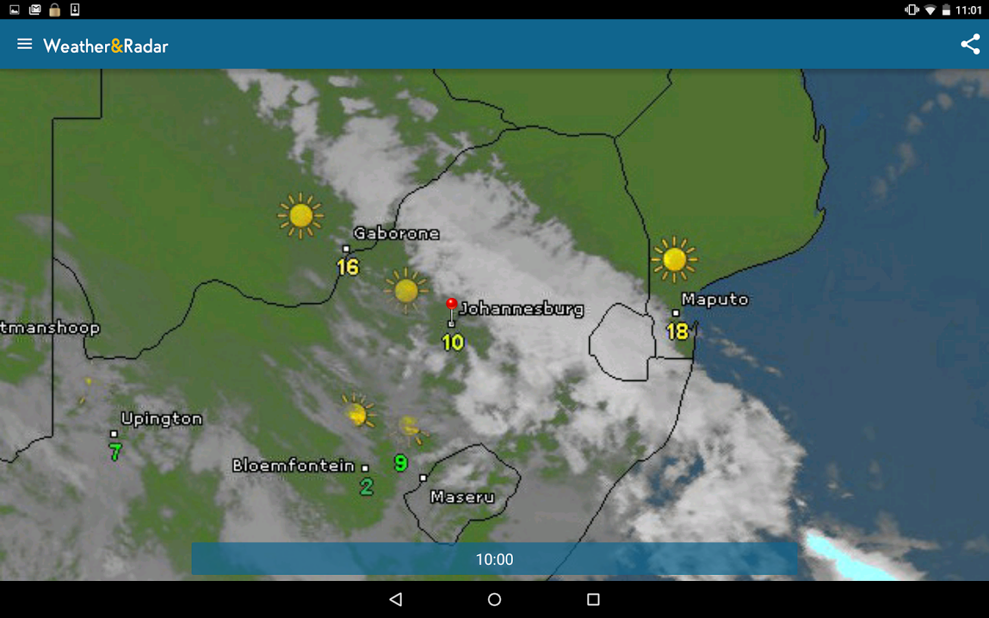 Weather & Radar- screenshot