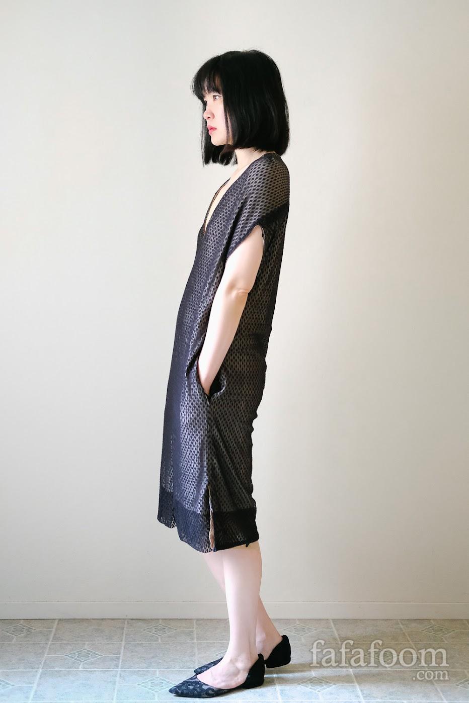 Result: Reversible Dress with Pockets - DIY Fashion Garments   fafafoom.com