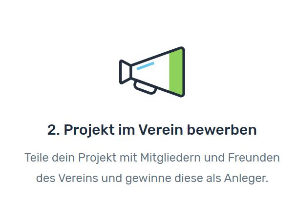 Projekt bewerben