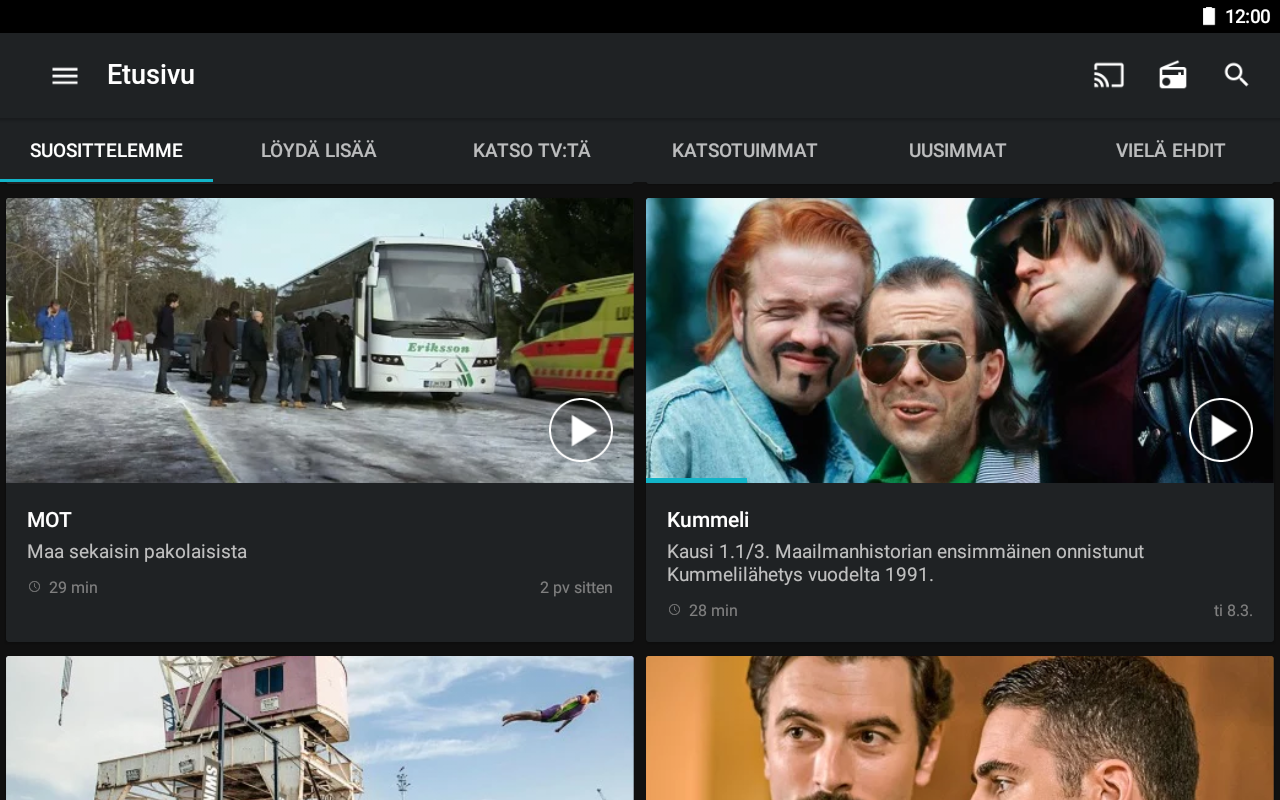 Yle Areena - Android Apps on Google Play