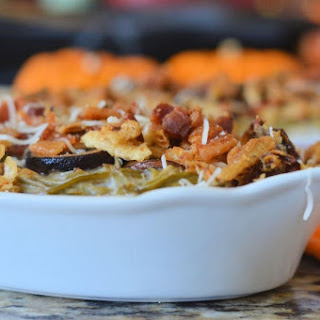 Portabella Bacon Green Bean Casserole